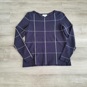 Charter Club Navy Sweater